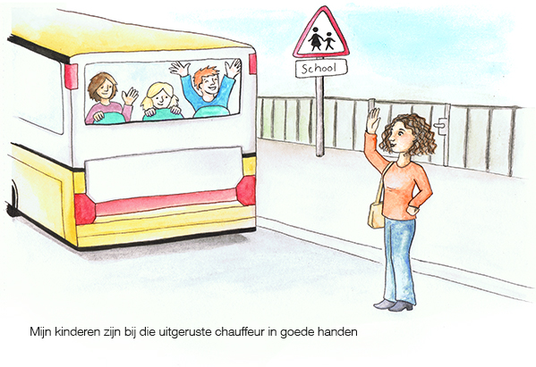 Illustration for trade union FNV presentation
