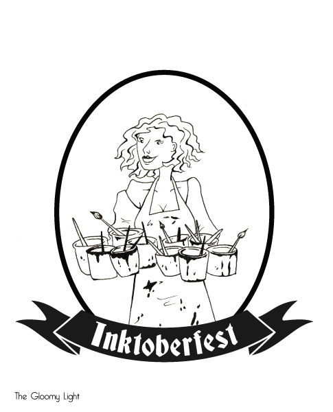 Inktoberfest illustration
