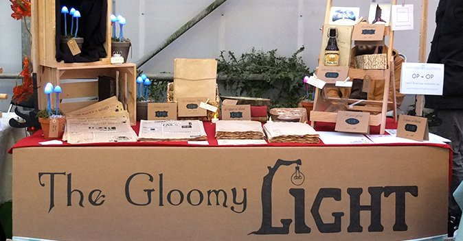 TGL booth at Etsy Made in NL craft fair - 25-11-2017
