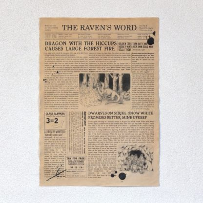The Raven's Word 1st Edition - Overview