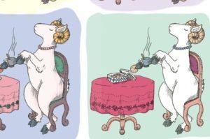 Boek illustratie voorbeeld - Geitengids